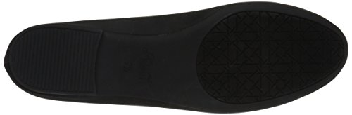 Adeline Flat Women's Mischka Badgley Jewel Black Ballet qn4g4tRS