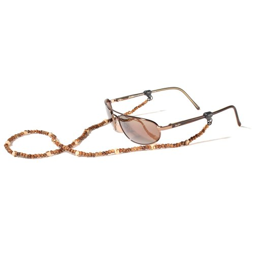 Croakies Woodland Eyewear Retainer, Tite Ends, Light Round ()