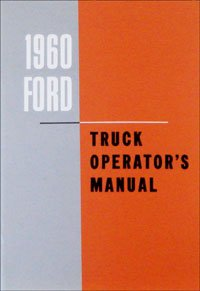 1100 Wipers (1960 Ford Truck Owners Manual 60 (with Decal))