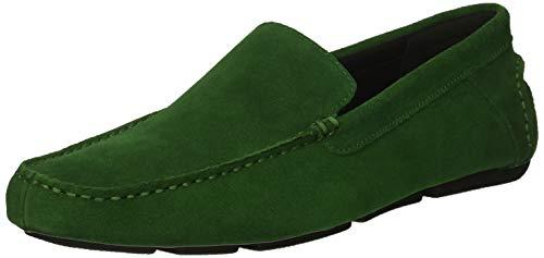 Calvin Klein Men's Miguel Loafer, Grass Green Calf Suede, 11 M US