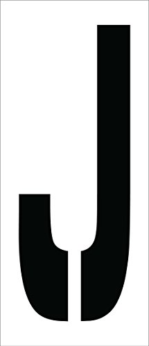 (National Marker Corp. PMC24-J Stencil, Letter J, 24 Inch)