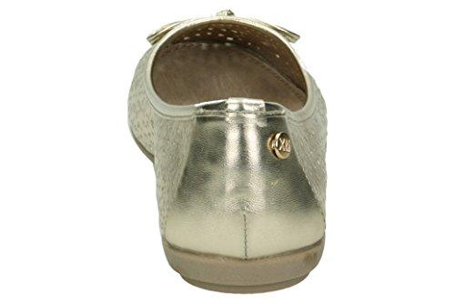 XTI 046609, Bailarinas con Punta Cerrada para Mujer Gold