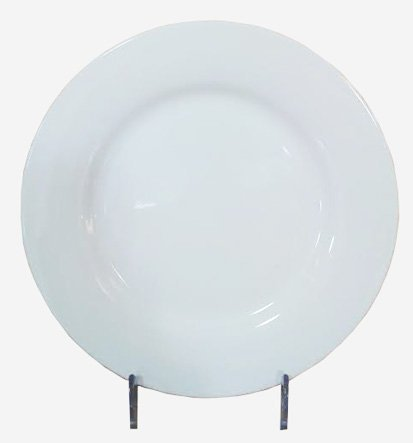 Thunder Group White Porcelain Round Dishes 6 Counts (8