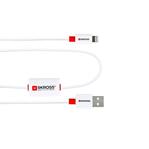 Skross Buzz Lightning Connector Charge and Sync Alarm Cable for All Devices with Lightning Connector [SKR2700211]