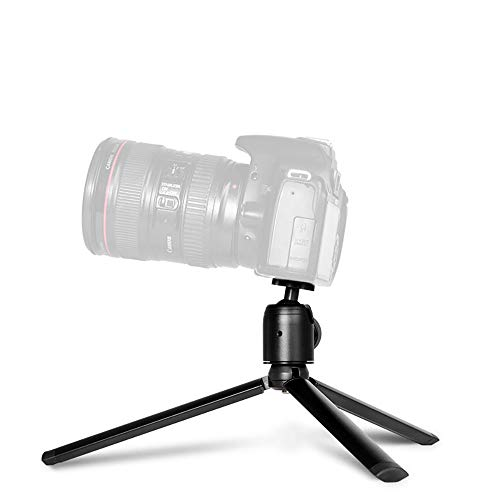 Portable Tripod for Phone Desktop Camera Bracket Macro Shooting Frame Tripods Holder Tripode para Movil Mobile Selfie Stabilizer (B)
