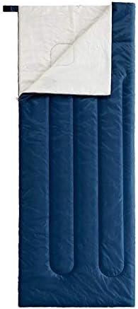 寝袋 軽量封筒は屋内キャンプハイキング、アウトドアアクティビティを走行用の寝袋暖かいです (Color : L-NAVY)
