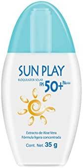 Sun Play Bloqueador Solar Fps 50