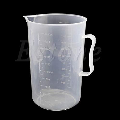MOMU 150/250/500/1000/2000ML Plastic Measuring Cup Jug Pour Spout Surface Kitchen 1Pc