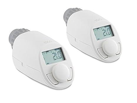 Radiador de cabezal de termostato EQ de 3 Model N, 2 unidades)