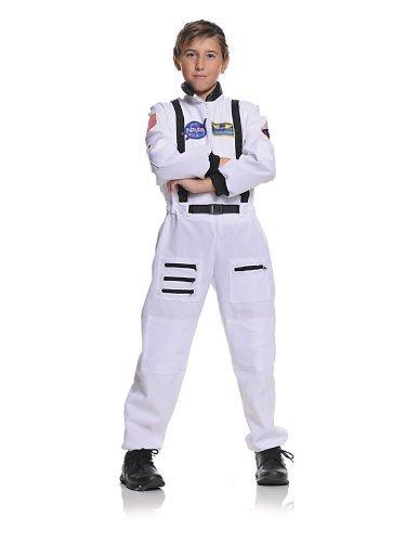 Underwraps Children's Astronaut Costume - White, Large -