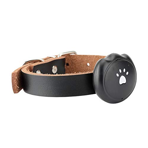 670 Gps - Pet GPS Collar Tracker, Dog GPS Tracking Pet Finder Collar Safety Location Attachment for Pets Dogs Tracking, Deep Waterproof,Black