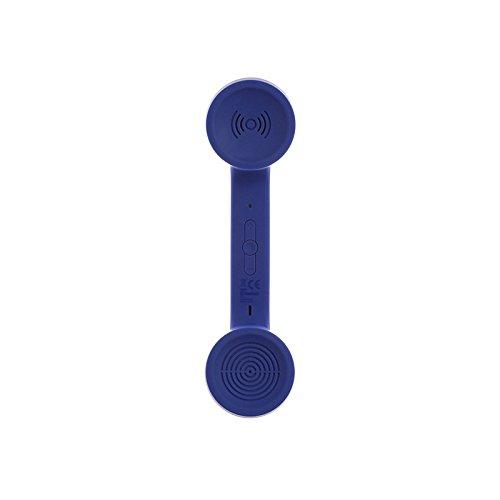 11 opinioni per Native Union POP Bluetooth Phone Cornetta in Stile Retrò, Soft Touch, Blu