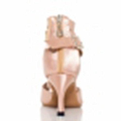 Salle heel femme Miyoopark bal 5cm Nude 7 de HRdwdqa