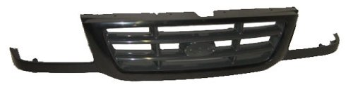 OE Replacement Ford Ranger Grille Assembly (Partslink Number FO1200393) (Ranger 2003 Grille Ford)