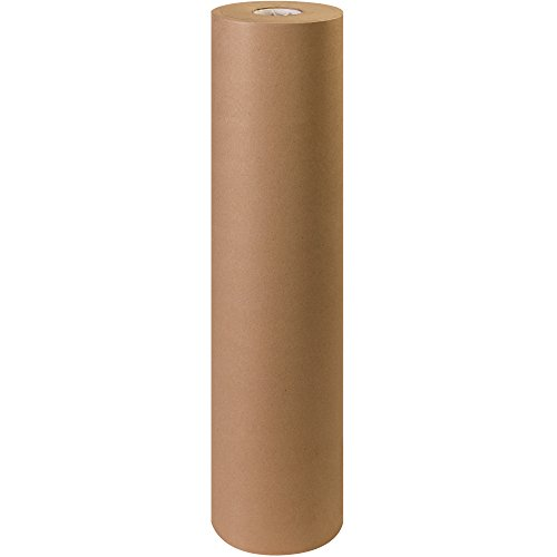 "Aviditi KP3650 Fiber 50# Paper Roll, 720' Length x 36"" Width, Kraft for cheap"