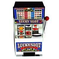 - Trademark Global Casino Slot Machine Bank