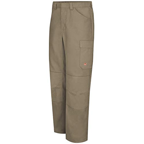 Red Kap Men's Double Knee No-Scratch Shop Pants