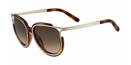 Chloe Women's Jayme Light Havana Sunglasses