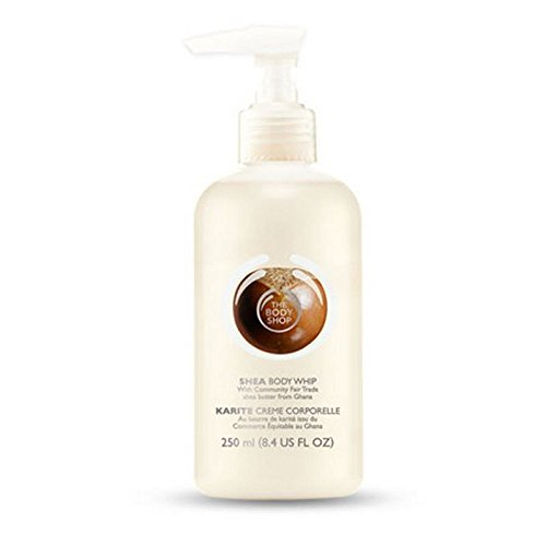 The Body Shop Shea Whip Body Lotion - 250ml (Pack of 2) (Whip Shea)