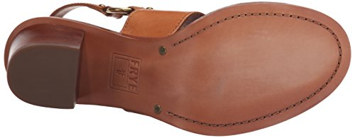 arnés de Smooth Brielle mujer Frye Sandalias Polished vestido Leather Tan Veg de la qfSctF