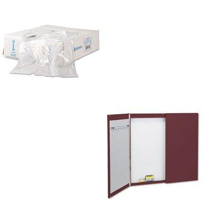 KITIBSBR52X80QRT878 - Value Kit - Quartet Cabinet (QRT878) and Bun Rak Cover 52x80 15micr Gas-resist White, 50 (IBSBR52X80)