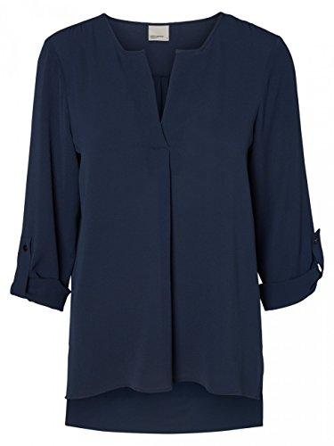 Vero Moda, Blusa para Mujer Azul (Navy Blazer)