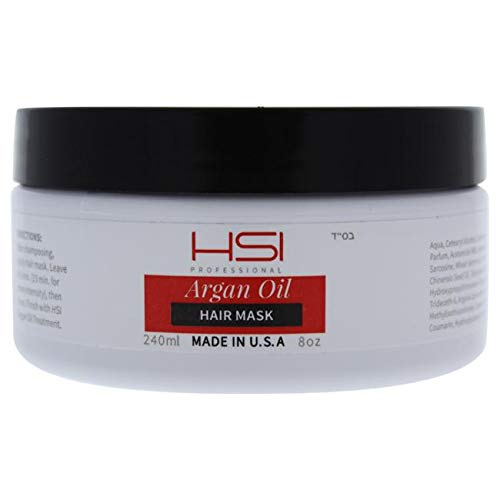 HSI Professional Argan Oil Smoothing Mask, 8 Ounce