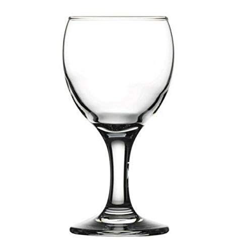 Pasabahce Bistro Mini Wine and Champagne Glasses 6 Pieces - 5.75 Oz - Wine Glass Small