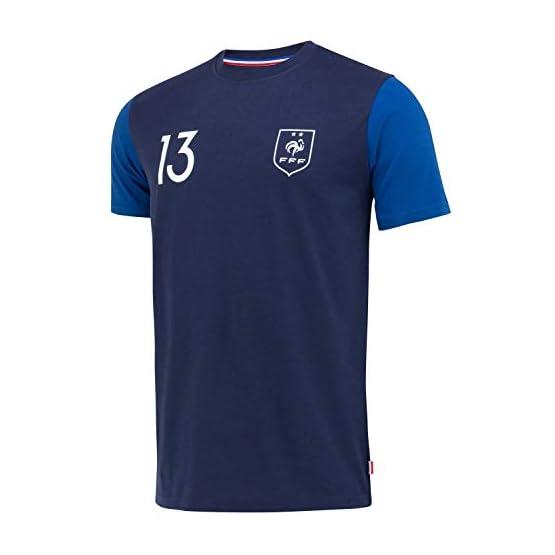 Equipe de FRANCE de football T-Shirt FFF - N'Golo KANTE - Collection Officielle Taille Homme