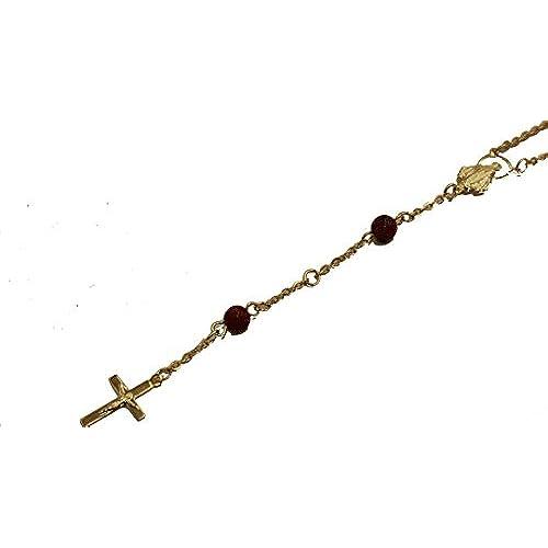a7a69207dc92 Venta caliente 2018 Virgin Mary rosario venturina collar 18 pulgadas –  Venturina