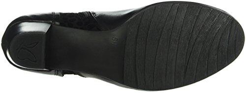 Caprice 25335, Botines para Mujer Negro (BLACK COMB 19)