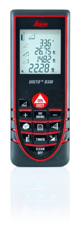 Leica Disto D330 Laser Distance Meter with 325-Foot Range