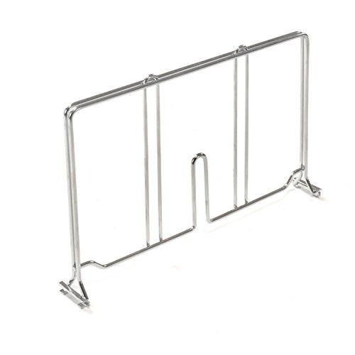 Nexel Wire Shelf Divider, Silver Epoxy Finish, 18