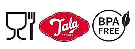 Rosso Tala Retro 1960 Cacao Shaker in Acciaio Inox