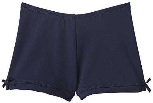 Monkey Buddy - Monkeybar Buddies Worry-Free Girl's Playground Shorts, Nylon and Spandex Blend, Size 5/6, Navy