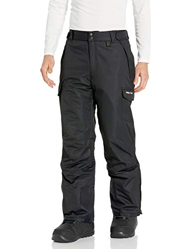 Arctix Men's Snow Sports Cargo Pants, Black, Medium/Regular