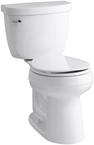 KOHLER K-3887-0 Cimarron Comfort Height Two-Piece Round-Front