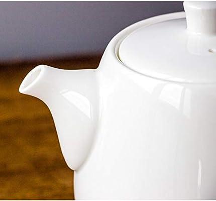 mangege Cafetera de cerámica Blanca Olla de cerámica Creativa ...