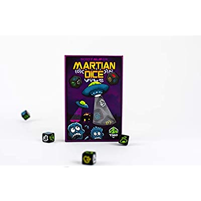 Tasty Minstrel Games Martian Dice: Toys & Games