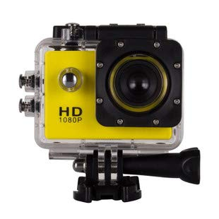 Action Camera H9 Sports Dv WiFi Diving Outdoor Waterproof Mini Dive 4K WiFi 16MP 98 Feet Waterproof Underwater Camera 170°Wide-Angle 2 Inch Screen Sports Cam with 2 Rechargeable 1050mAh Batteries