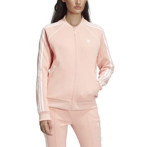 adidas Originals Women's Superstar Track Jacket, dust Pink, Small
