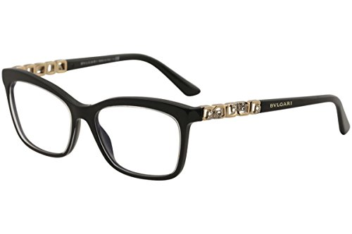 Bvlgari - GIARDINI ITALIANI BV 4116B, Cat Eye, acetate, women, BLACK(5383), - Bvlgari Eyewear Frames