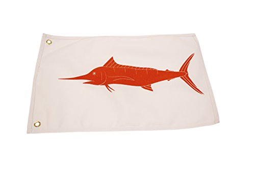 EAT MY TACKLE Marlin Boat Flag Catch and Release (Flag Fish Release)