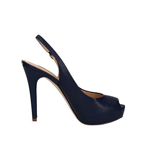 GUESS Huele, Sandalias con Plataforma Para Mujer Azul