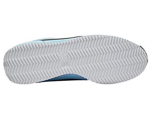 Nike Cortez Men's Blue GaleBlackLaser Fuchsia Leather Running Shoes 9.5 D(M) US