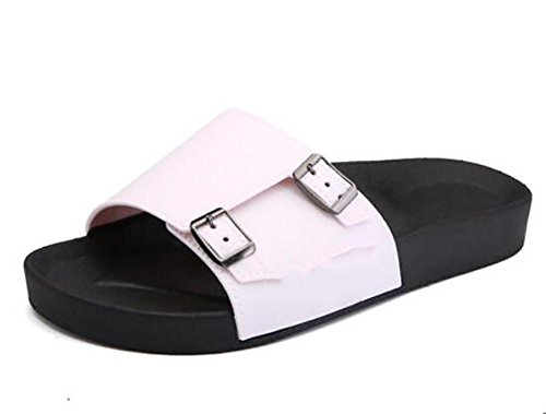 new word pole sandals trend slippers buckle travel non size large 4 beach double slip Summer 42 male shoes dIq6d