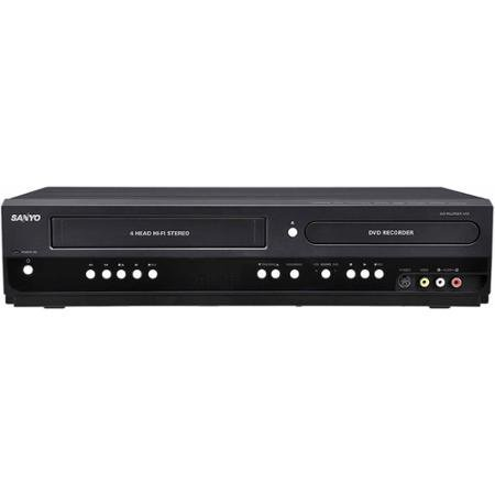 Sanyo DVD Recorder/VCR Combo with 1080p HD UpConversion a...