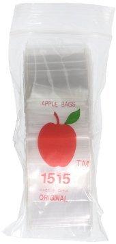 1000 apple baggies 2x2 - 2