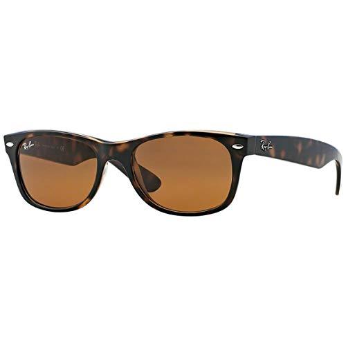 Ray-Ban New Wayfarer Sunglasses,52mm,Light Havana/Brown ()