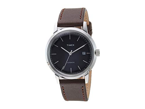 Timex Men's Marlin Automatic Black/Silver One Siz